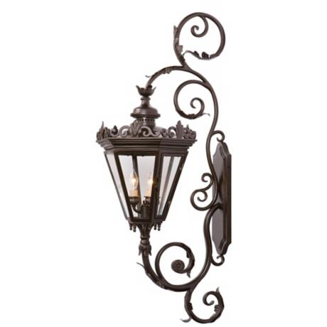 "Varaluz Corsica Collection 49"" High Outdoor Wall Light"