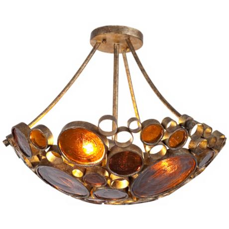 "Varaluz Fascination Kolorado 19"" Wide Ceiling Light Fixture"