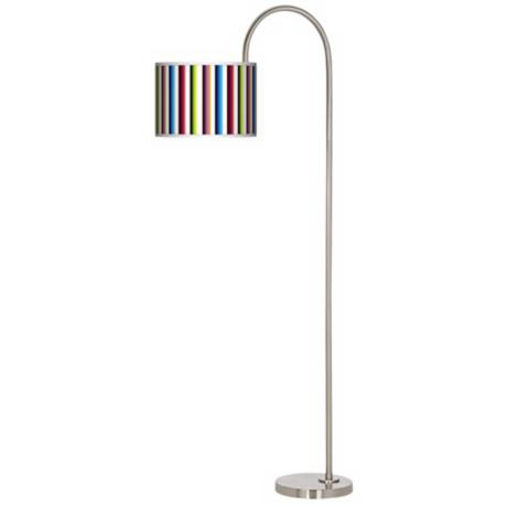 Technocolors Arc Tempo Giclee Floor Lamp