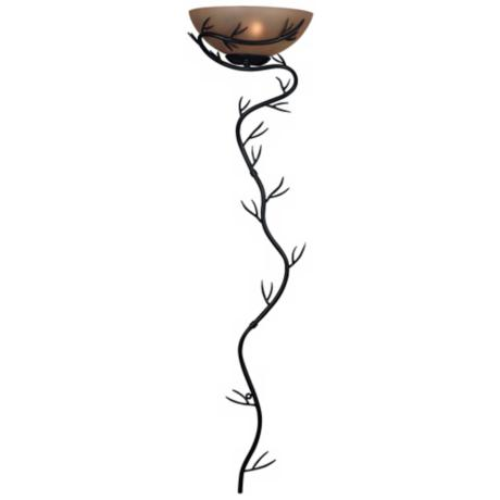 "Twig Bronze 52"" High Plug-in Wallchiere Light"