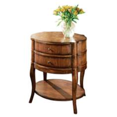 Butler Loft Collection Oval Side Table