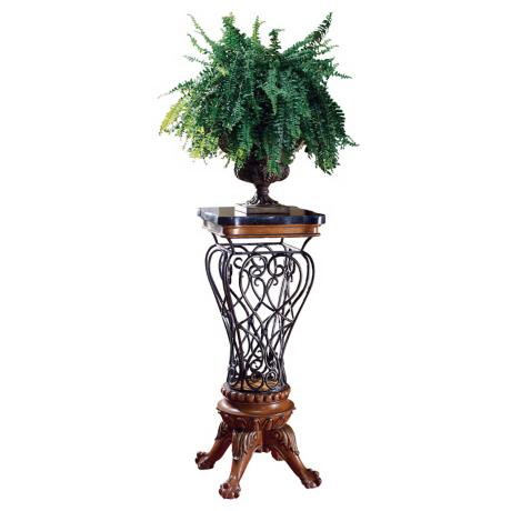 Heritage Collection Metal Openwork Pedestal