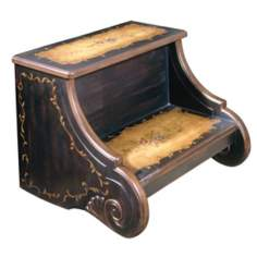 Artists Originals Collection Coffee Finish Step Stool