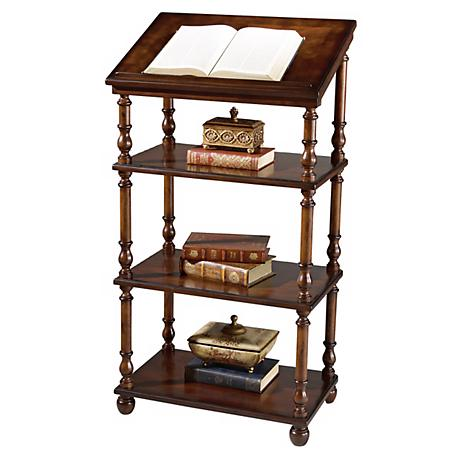 Plantation Cherry Collection Library Stand