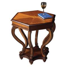 Masterpiece Collection Octagonal Accent Table