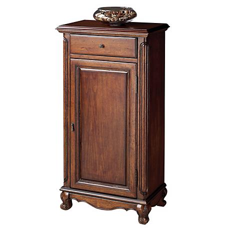 Plantation Cherry Collection Tall Door Chest