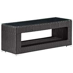 Zuo Modern Algarve Aluminum Outdoor Coffee Table