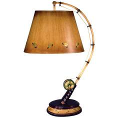 Flying Fish Rod Table Lamp