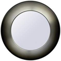 "Babette Holland Sunburst Smoke Fade 30"" Wide Wall Mirror"