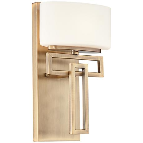 "Hinkley Lanza Brushed Bronze 12"" High Wall Sconce"