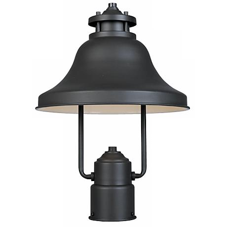 "Bayport Collection Dark Sky 15 1/4"" High Outdoor Post Light"