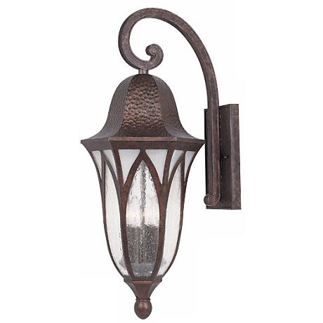 "Berkshire Collection 27 1/2"" High Outdoor Wall Light"