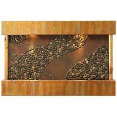 Sycamore Springs Copper Indoor Water Wall Fountain