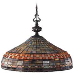 Jewelstone Collection Tiffany Style Pendant Chandelier