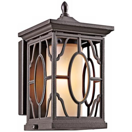 "Mackenzie Bronze Finish 9"" High Outdoor Wall Light"