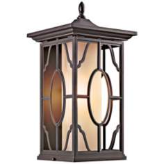 "Mackenzie Bronze Finish 18 1/2"" High Outdoor Wall Light"