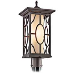 "Mackenzie Bronze Finish 21 1/2"" High Outdoor Post Light"