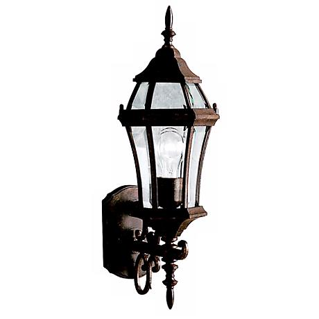 "Townhouse Tannery Bronze 21 1/2"" High Outdoor Wall Light"