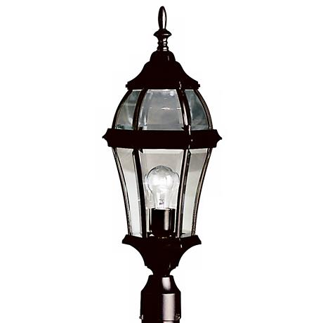 "Townhouse Black 24 1/2"" High Outdoor Post Light"