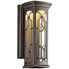 "Kichler Franceasi LED 18"" High Outdoor Wall Light"