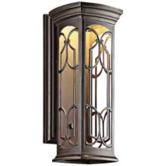 "Kichler Franceasi LED 22"" High Outdoor Wall Light"
