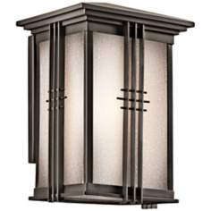 "Portman Square Olde Bronze 11"" High Outdoor Wall Light"