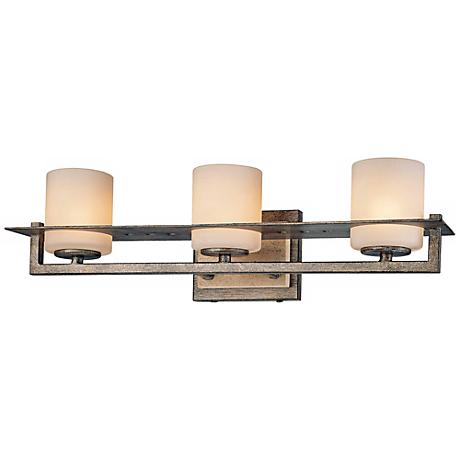 "Minka Compositions 20"" Wide Bathroom Wall Light"