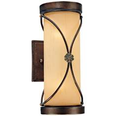 "Minka Atterbury Collection 11 1/2"" High Wall Light"