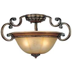 "Minka Brompton Collection 20"" Wide Ceiling Light Fixture"