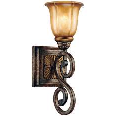 "Minka Brompton Collection 15 1/4"" High Wall Sconce"