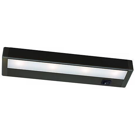 "WAC Bronze LED 12"" Wide Under Cabinet Light Bar"