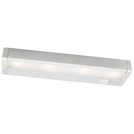 wac white led 12 wide under cabinet light bar m6770. Black Bedroom Furniture Sets. Home Design Ideas