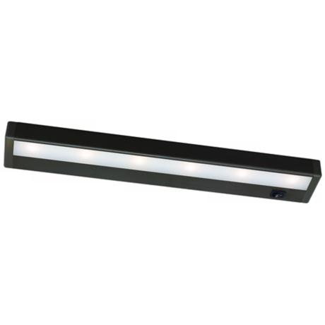 "WAC Bronze LED 18"" Wide Under Cabinet Light Bar"
