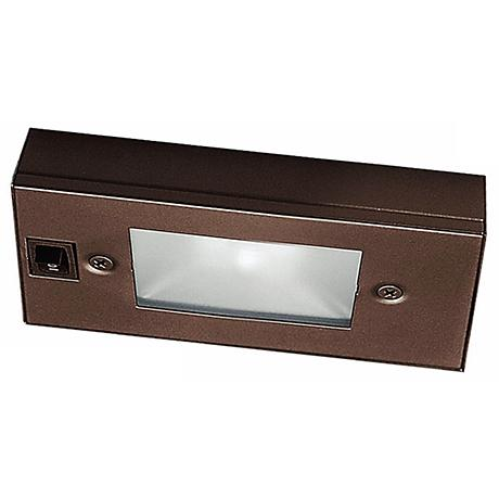 "WAC Bronze Xenon 6"" Wide Under Cabinet Light Bar"