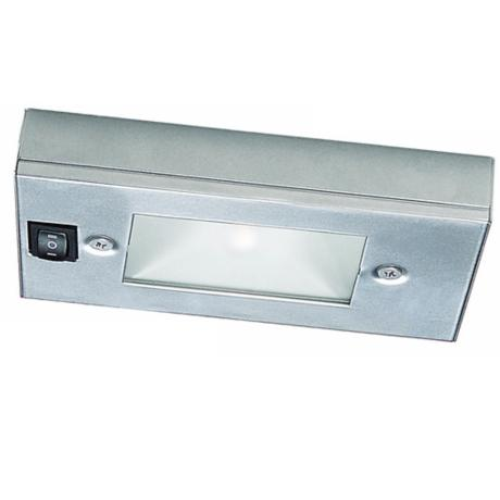 "WAC Satin Nickel Xenon 6"" Wide Under Cabinet Light Bar"