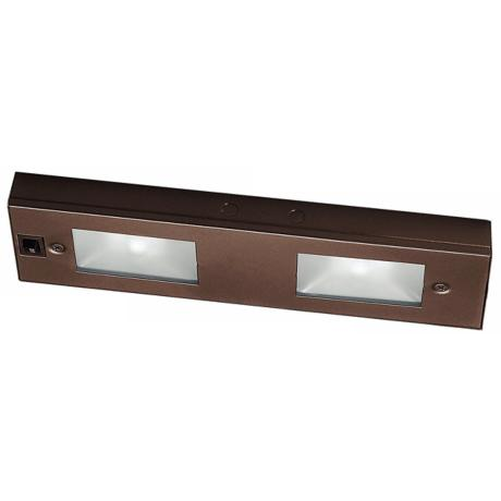 "WAC Bronze Xenon 12"" Wide Under Cabinet Light Bar"
