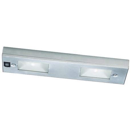 "WAC Satin Nickel Xenon 12"" Wide Under Cabinet Light Bar"