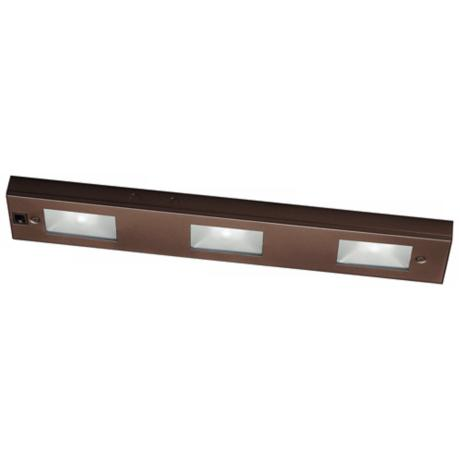 "WAC Bronze Xenon 18"" Wide Under Cabinet Light Bar"