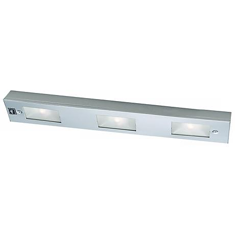 "WAC Satin Nickel 18"" Wide Under Cabinet Light Bar"