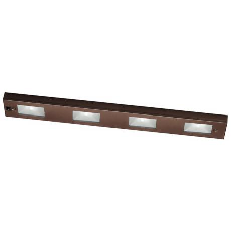 "WAC Bronze Xenon 24"" Wide Under Cabinet Light Bar"