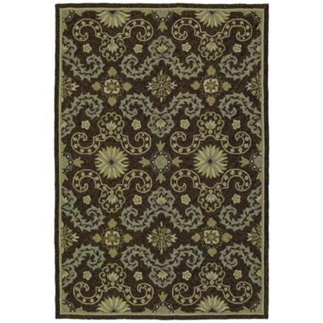 Isle of Hope Ebony Area Rug
