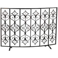 Casablanca Scroll Fireplace Screen