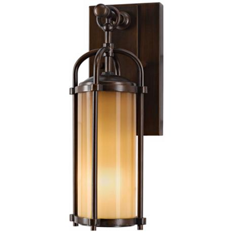 "Murray Feiss Dakota 13 1/4"" High Outdoor Wall Light"