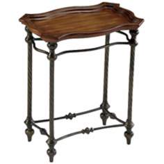 English Rectangle Accent Side Table