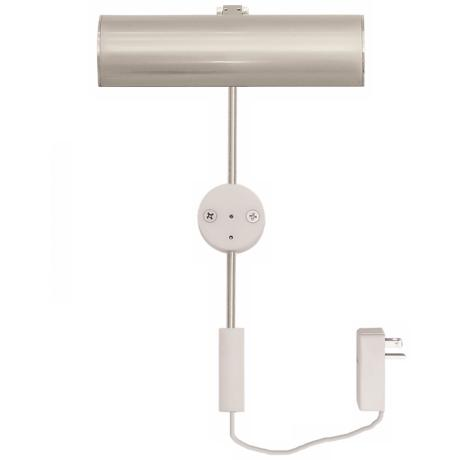 "Cody Satin Nickel 6"" LED Picture Light"