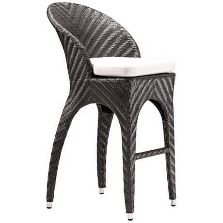 "Zuo Corona 31 1/2"" High Bar Chair"