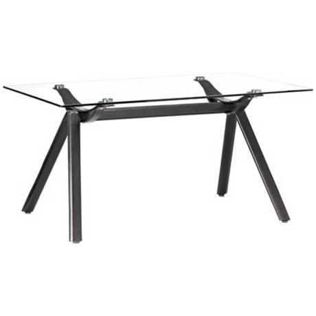 Zuo Vex Black Dining Table