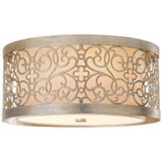 "Murray Feiss Arabesque 14 3/4"" Wide Ceiling Light Fixture"