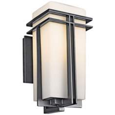 "Tremillo Collection Black 14 1/2"" High Outdoor Wall Light"