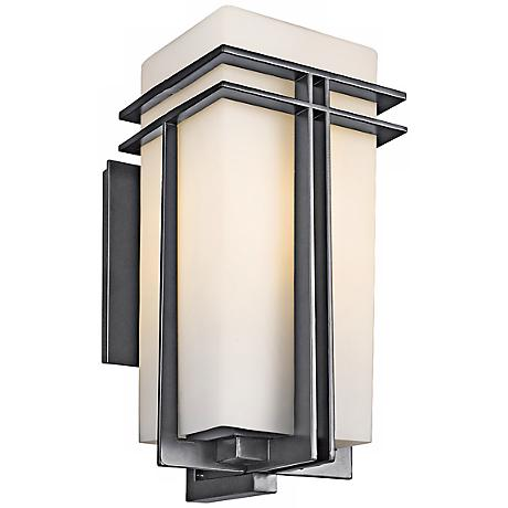 "Tremillo Collection Black 20 1/2"" High Outdoor Wall Light"